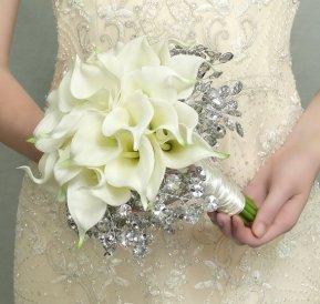 Téli menyasszonyi csokor 9,Winter wedding bouquets 9 Forrás:http://www.etsy.com
