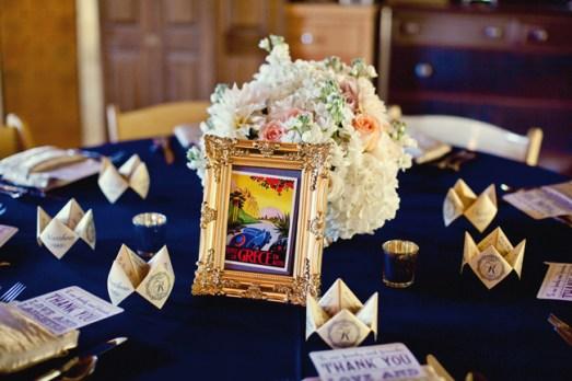 Tengerészkék esküvői dekoráció 2 , Navy wedding decoration 2 Forrás:http://theeverylastdetail.com