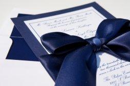 Tengerészkék esküvői meghívó , Navy blue wedding invitation Forrás:http://www.etsy.com/
