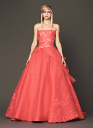 Vera Wang 2014 Fall Pink bridal collection 11 Forrás:http://www.verawang.com