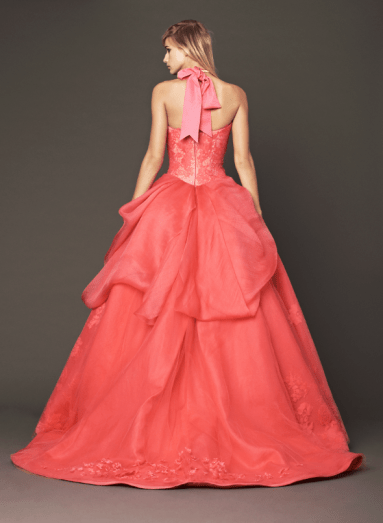 Vera Wang 2014 Fall Pink bridal collection 11a Forrás:http://www.verawang.com