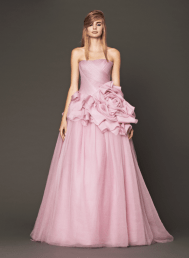 Vera Wang 2014 Fall Pink bridal collection 3 Forrás:http://www.verawang.com