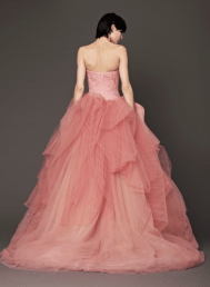 Vera Wang 2014 Fall Pink bridal collection 5a Forrás:http://www.verawang.com