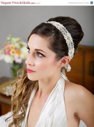 Menyasszonyi frizura ,hosszú barna hajból 17, Bridal long brown hair 17 Forrás:http://www.etsy.com