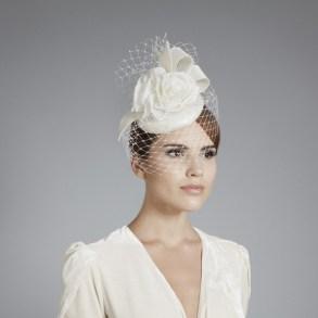 Menyasszonyi kalap 12, Bridal hat 12 Forrás:www.ginafoster.co.uk