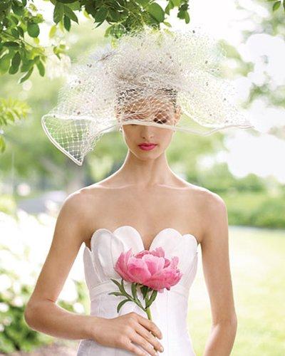 Menyasszonyi kalap 18, Bridal hat 18 Forrás:www.suzannemillinery