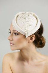 Menyasszonyi kalap 3, Bridal hat 3 Forrás:www.etsy.com