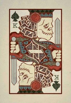 King of Spades.