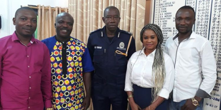 FIPAG Executives with Ashanti Regional Police Commander