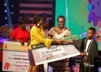 VIDEO: Rapper Samuel Owusu wins Talented Kidz Season 9