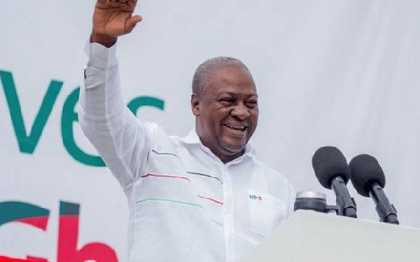 Mahama campaign tour hits Eastern Region