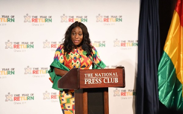 Catherine Afeku, Minister of Tourism Arts and Culture