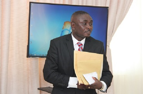 Colonel Michael Opoku, Director of Operations, National Security