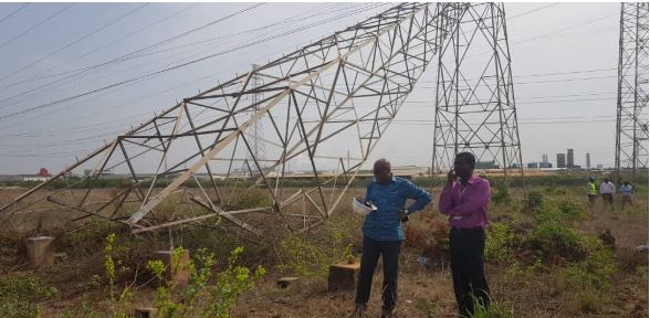The situation saw parts of Dansoman, Kasoa, Swan Lake and other parts of Accra plunged into darkness