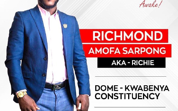 CEO of Youth Web Group and Founder of Ghana Tertiary Awards, Richmond Amofa Sarpong