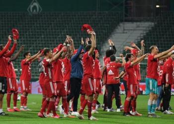 Bayern Munich are the second team in one of Europe's top five leagues to win eight consecutive domestic top-flight titles, after Juventus in Serie A from 2011-12 to 2018-19.