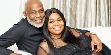 Richard Mofe-Damijo and wife Jumobi celebrate their 20th wedding anniversary