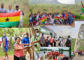 #EasterWeekendMagic: Kaya Tours 1-day unforgettable life experiential at Akosombo (PHOTOS)