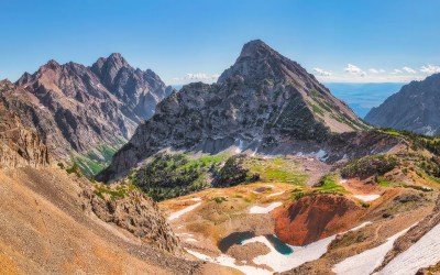 Teton Crest Trail, Day 4 – Paintbrush Divide