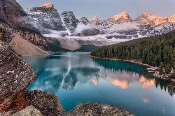 Moraine Lake Banff National Park Fine Prints Wall Art