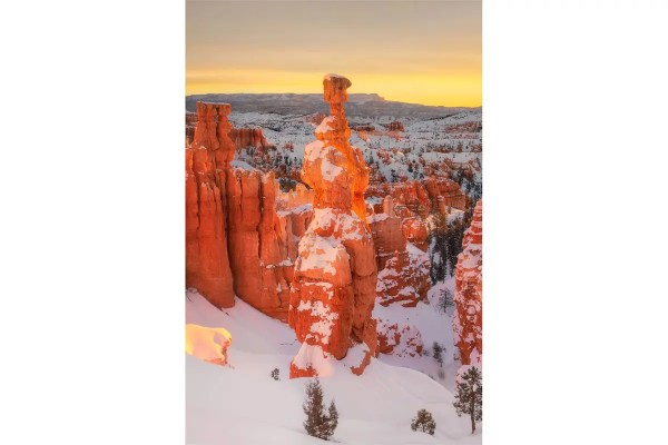 Sunrise at Thor's Hammer Bryce Canyon National Park Utah Fine Prints Wall Art