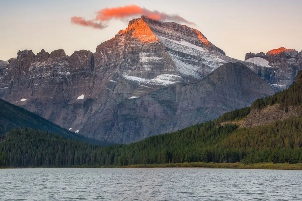 Mt Gould Glacier National Park Montana Fine Prints Wall Art