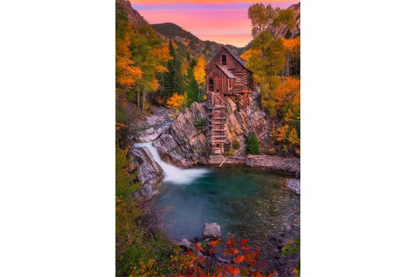 Old Crystal Mill Marble Colorado Fine Prints Wall Art