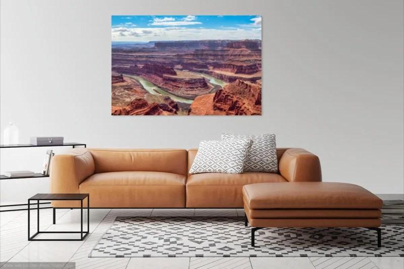 Daytime at Dead Horse Point Moab Utah Fine Prints Wall Art