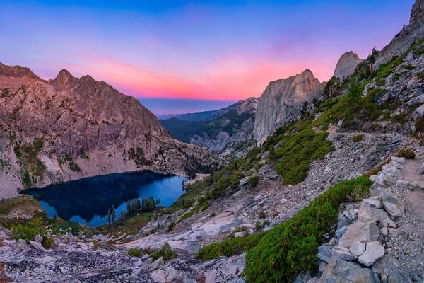 Hamilton Lake Sequoia National Park California Fine Prints Wall Art