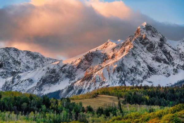 Hayden Peak Colorado Fine Prints Wall Art