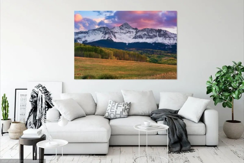 Mt Wilson Peak Colorado Fine Prints Wall Art