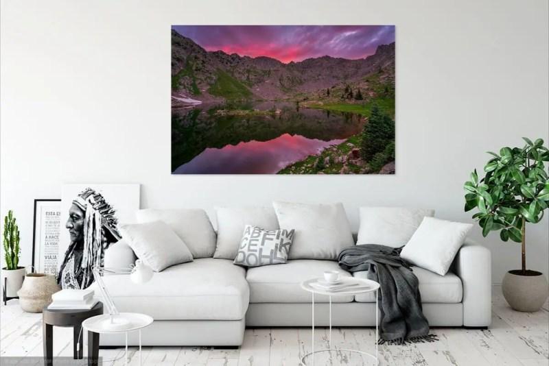 Booth Lake Vail Colorado Fine Prints Wall Art