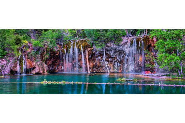 Hanging Lake Panorama Shop Fine Prints Wall Art