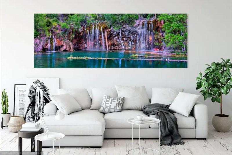 Hanging Lake Panorama Shop Fine Prints Wall Art