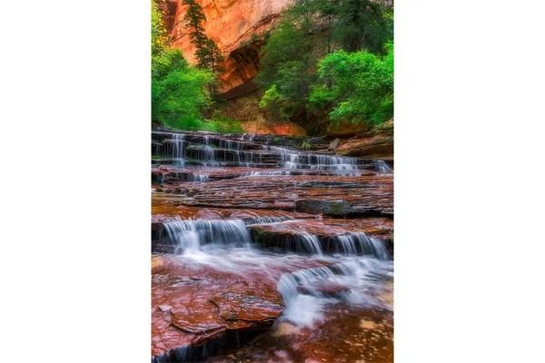 Arch Angel Falls Zion National Park Utah Fine Prints Wall Art