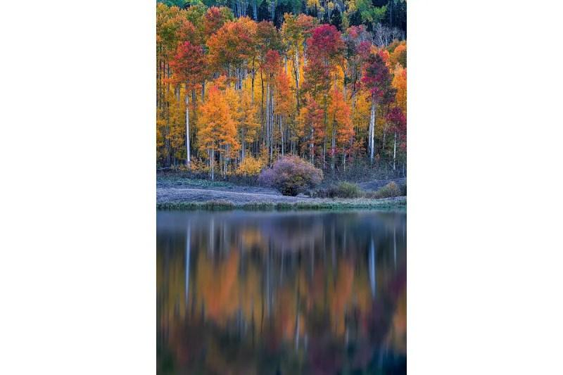 Clear Lake Reflection Colorado