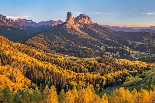 Fall at Owl Creek Pass Colorado