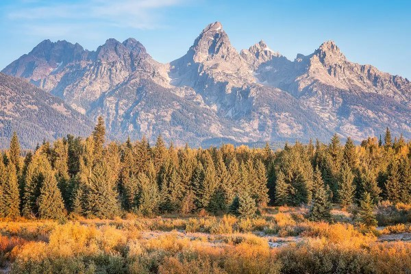 Blacktail Ponds Grand Teton National Park Wyoming