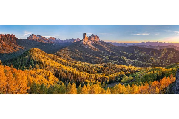 Fall at Owl Creek Pass Panorama Colorado