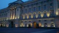 Im Buckingham Palace ist noch Licht