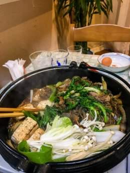 Homemade Sukiyaki