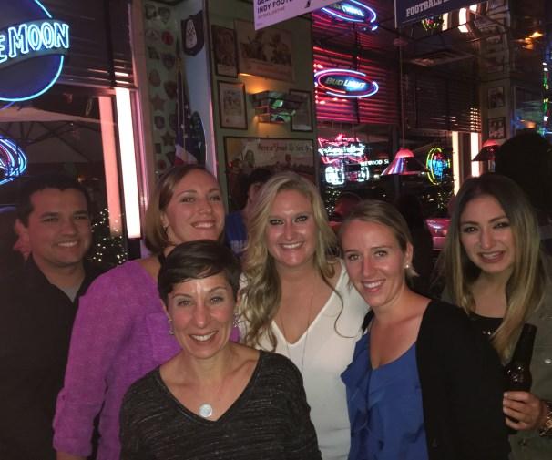 SJSU Crew with our professor!