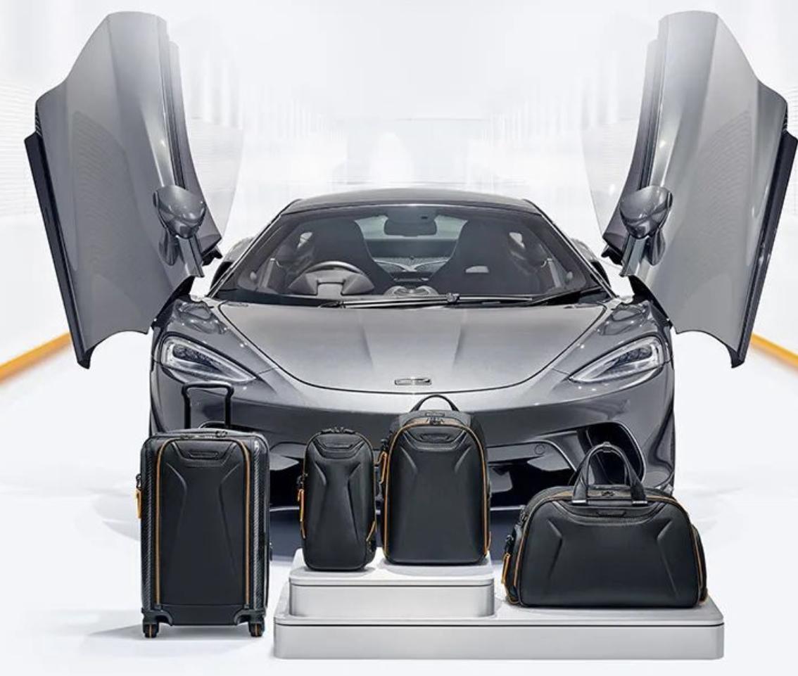 神級車款入魂!Tumi 與 McLaren 設計師聯名九大箱包款細節揭秘