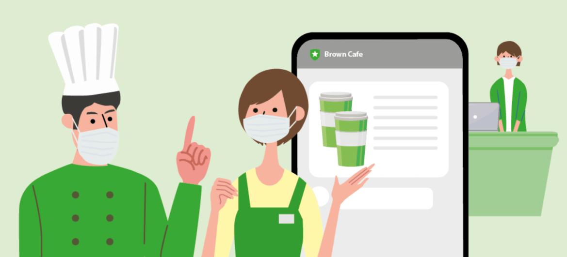 LINE官方帳號挺中小餐飲業者 推出外帶外送模組功能免費方案
