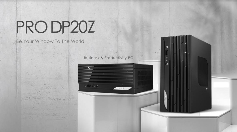 微星辦公迷你主機PRO DP20Z 5M亮相!搭載AMD Ryzen 5000G系列