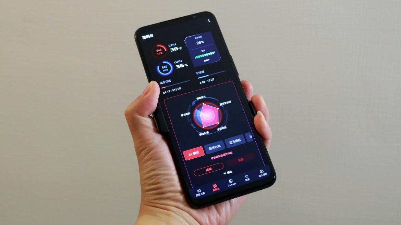 ROG Phone 5s Pro開箱動手玩