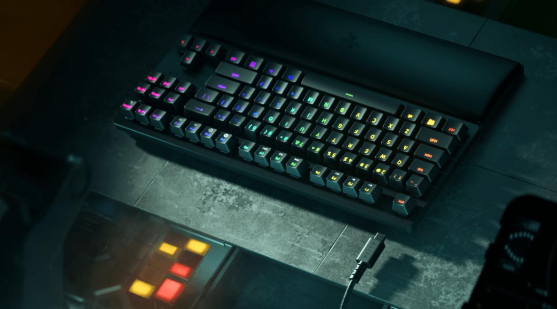 全新 RAZER HUNTSMAN V2系列鍵盤登台:幾乎零延遲而且靜音打字