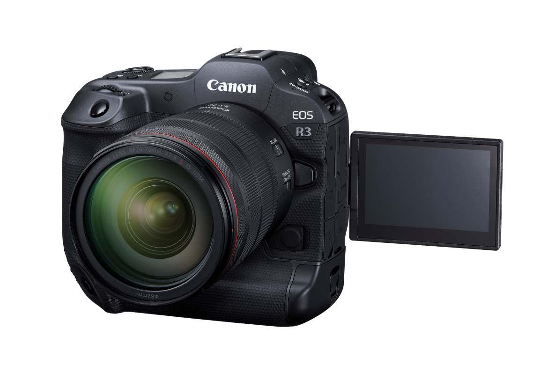 Canon EOS R3 全片幅無反亮相:30fps高速連拍和車輛偵測自動對焦