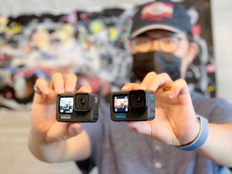 GoPro Hero 10 Black實測與前後代比較:這才是運動相機完整體