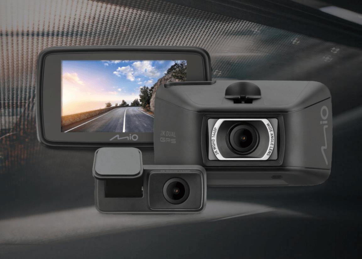 Mio MiVue 890D (890+S60)GPS行車記錄器:前後真實2K錄影